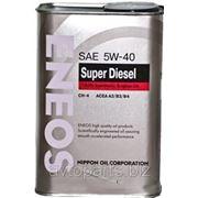 Масло моторное ENEOS SUPER DIESEL 5W40 CH-4 940мл фото
