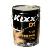 Масло моторное KIXX D-1 CI-4/SL 15W40, синтетика, 20л фото