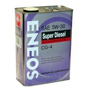 Eneos Super Diesel Semi-synthetic CG-4 5W-30 4л. фото