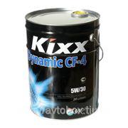 Масло моторное KIXX DYNAMIC CF-4/SG 5W30, полусинтетика, 20л фото