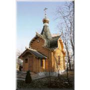 Изготовление срубов церквей фото