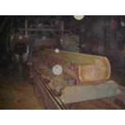 Распиловка древесины. фото