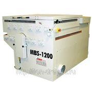 Многопильный круглопильный станок для роспуска плит MBS-1200 (Германия) фото