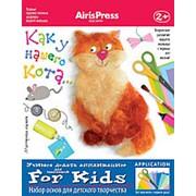 Набор для творчества «Мастерская малыша: Как у нашего кота 2+» Айрис-Пресс 55443 фото