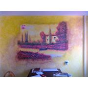 Монтаж и вписывание фресок фото