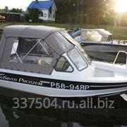 Шъём тенты на катера и лодки фото