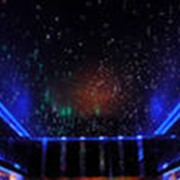 """Потолок натяжной """"Звёздное небо"""" фото"""