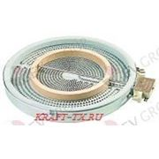 490139 конфорка круглая 220В 2,5 квт с 2 цепями напряжения фото