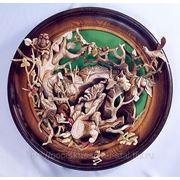 Декоративное блюдо «Шурале» фото