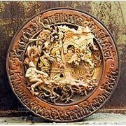 Декоративное блюдо «У лукоморья» фото