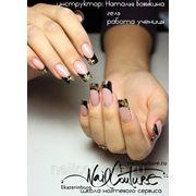 Базовый курс моделирование ногтей по гелевой технологии фото