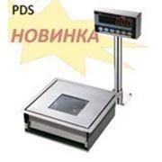 Торговые весы CAS PDS (с возможностью подключения сканера штрих-кодов) фото