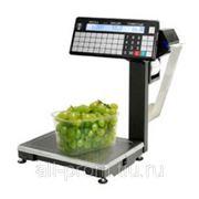 ВПМ-Т1 печатающие торговые весы с устройством подмотки ленты фото