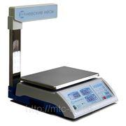 Весы торговые электронные ВСП-4ТС Люкс (15 кг и 30кг) фото