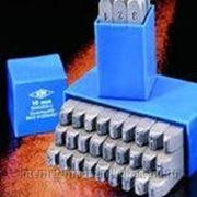 Набор клейм буквенных h 10 мм (кириллица) фото