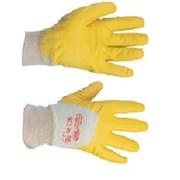 Перчатки нитриловые (эконом неполный облив) фото