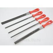 Напильники по металлунабор 5шт,Top Tools фото