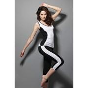 Капри женские, спортивные. Модель 6611/6 фото