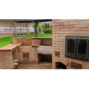 Эскиз проект изготовление барбекю каминов систем отопления на твердом топливе дымоходов под ключ фото