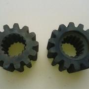 Шестерня механизма поворота автокрана КС-3577.28.092-1 (13 зубов и 14 зубов) фото
