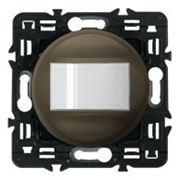 Датчик движения (присутствия) 400Вт Legrand Celiane с лицевой панелью (графит) фото