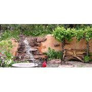 доставка и установка больших водопадов фонтанов фото