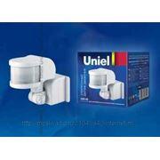 Датчик движения Uniel USN-08-220R-1200W-3LUX-12M-0,6-1,5m/s-WH