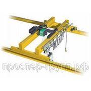 Кран мостовой электрический двубалочный фото