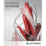 Autodesk AutoCAD 2014 Commercial New NLM DVD ML03 ПО фото