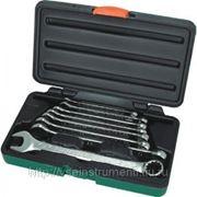 Набор комбинированных ключей 8-19 мм, 8 предметов jonnesway super tech w84108s фото