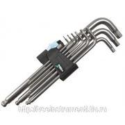 Набор г-образных ключей 3950/9 pkl clip 9tlg wera we-022720 фото