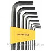 Набор имбусовых ключей stayer standard 2-10 мм 27405-h8 фото