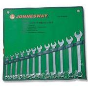 Набор комбинированных ключей 10-32мм, 12 предметов jonnesway w26112sa фото