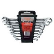 Набор ключей комбинированных, 6 - 22 мм, 12 шт., CrV, зеркальная полировка MATRIX