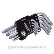 Набор имбусовых длинных ключей эксперт torx т10 - т50 зубр 2745-4-1_z01 фото