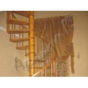 Деревянные лестницы винтовые на заказ фото