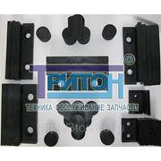Комплект плит скольжения автокран Галичанин КС-55729 (стрела Газпромкран) фото