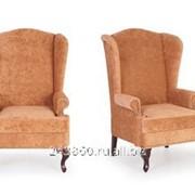 Английское кресло с ушами evrika plain фото
