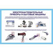 Электронагревательные приборы и бытовые машины