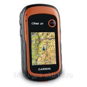 Garmin eTrex 20 Глонасс — GPS + Дороги России Топо фото
