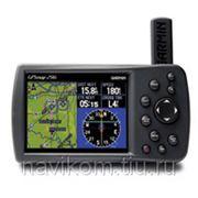 Garmin GPSMAP 296 Авиационный навигатор с цветным дисплеем и встроенными картами рельефа фото