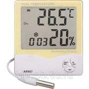 Индикатор температуры и влажности воздуха AR867 фото