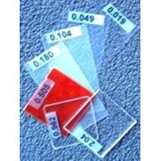 Стандартные стеклянные пластины фото