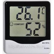 Термометр электронный с гигрометром ТЕ-803 фото