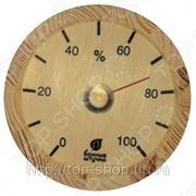 Гигрометр круглый для бани и сауны Банные штучки фото