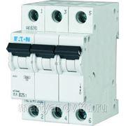 PL4-C6/3 Автоматический выключатель 6А, 3 полюса, откл. способность 4,5 кА фото