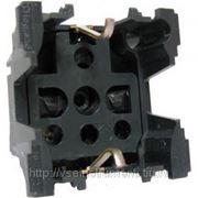 Механизм розетки с заземлением и защитными шторками, винтовой зажим, 2 модуля legrand celiane 67152 фото