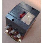 Автоматический выключатель АК-25-211 фото