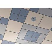 Комплектация интерьеров кассетными металлическими потолоками