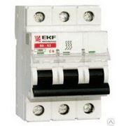 Автоматический выключатель EKF 3p40a тип C фото